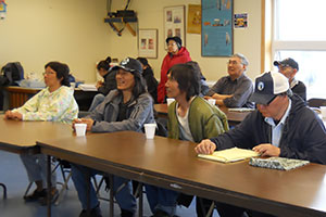 Savoonga community leadership meeting