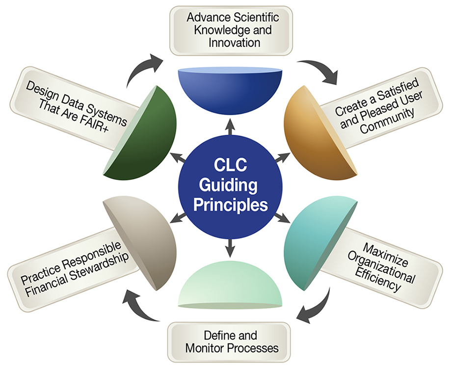 CLC Guiding Principles flowchart