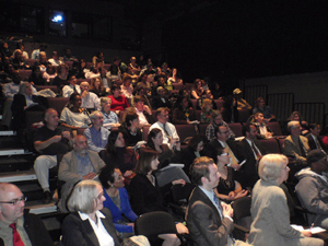 Harlem Forum Audience members