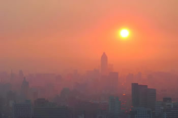 Warning over smoky city smog
