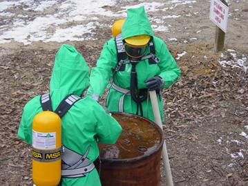 hazardous waste worker training