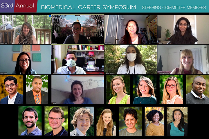 23rd Annual Biomedical Career Symposium. Steering Committee Members