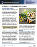 Botanical Dietary Supplements Program