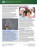 Children's Health – Why the Environment Matters