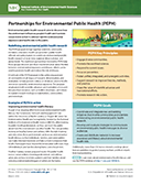 Partnerships for Environmental Public Health