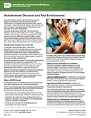 Autoimmune Diseases and Your Environment pdf preview