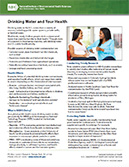 Drinking Water brochure cover page