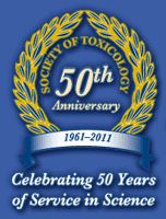 Society of Toxicology - 50th Anniversary, 1961-2011.  Celebrating 50 Years of Service in Science.