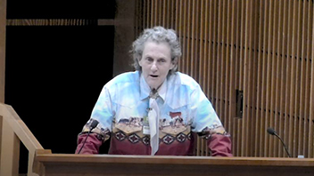 NIEHS Spirit Lecture: Developing Individuals Who Have Different Kinds of Minds with Temple Grandin, Professor of Animal Science – April 12, 2018
