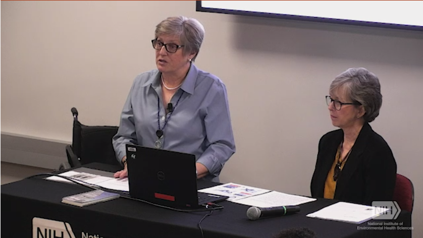 From Science to Advocacy with Stella Sieber and Nancy Payne, R.N., MSN, CWCNOlden Distinguished Lecture – October 28, 2019