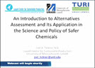 Introduction to Alt. Assessment