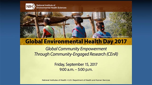 Annual Global Environmental Health Day 2017