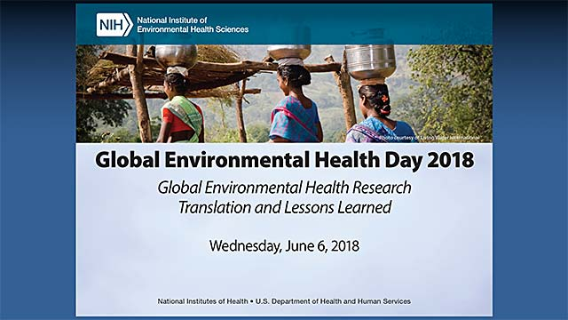 Annual Global Environmental Health Day 2018