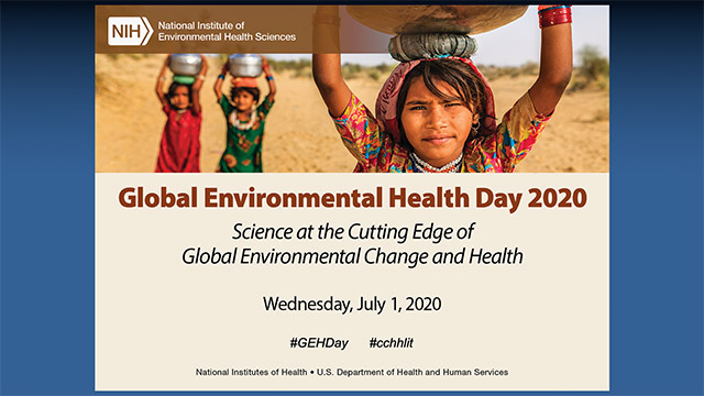 Annual Global Environmental Health Day 2020 – July 1, 2020