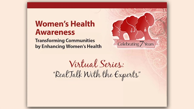 Women's Health Awareness Virtual Series