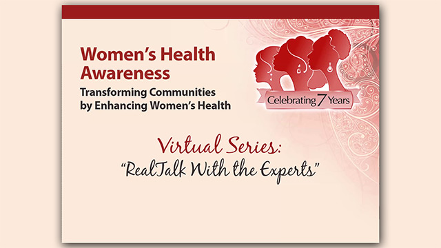 Women's Health Awareness Virtual Series - March 11, 2021