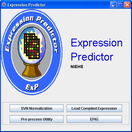 Expression Predictor NIEHS