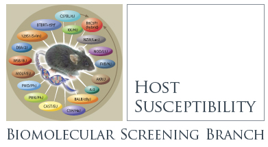 Host Susceptibility - Biomolecular Screening Branch
