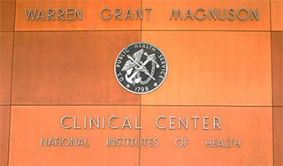 NIH Clinical Center Sign