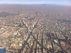 Overhead of Mexico City
