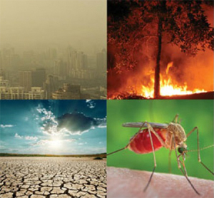 Climate change impacts on health