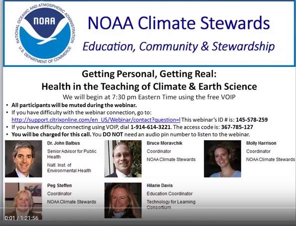 NOAA Climate Stewards screenshot