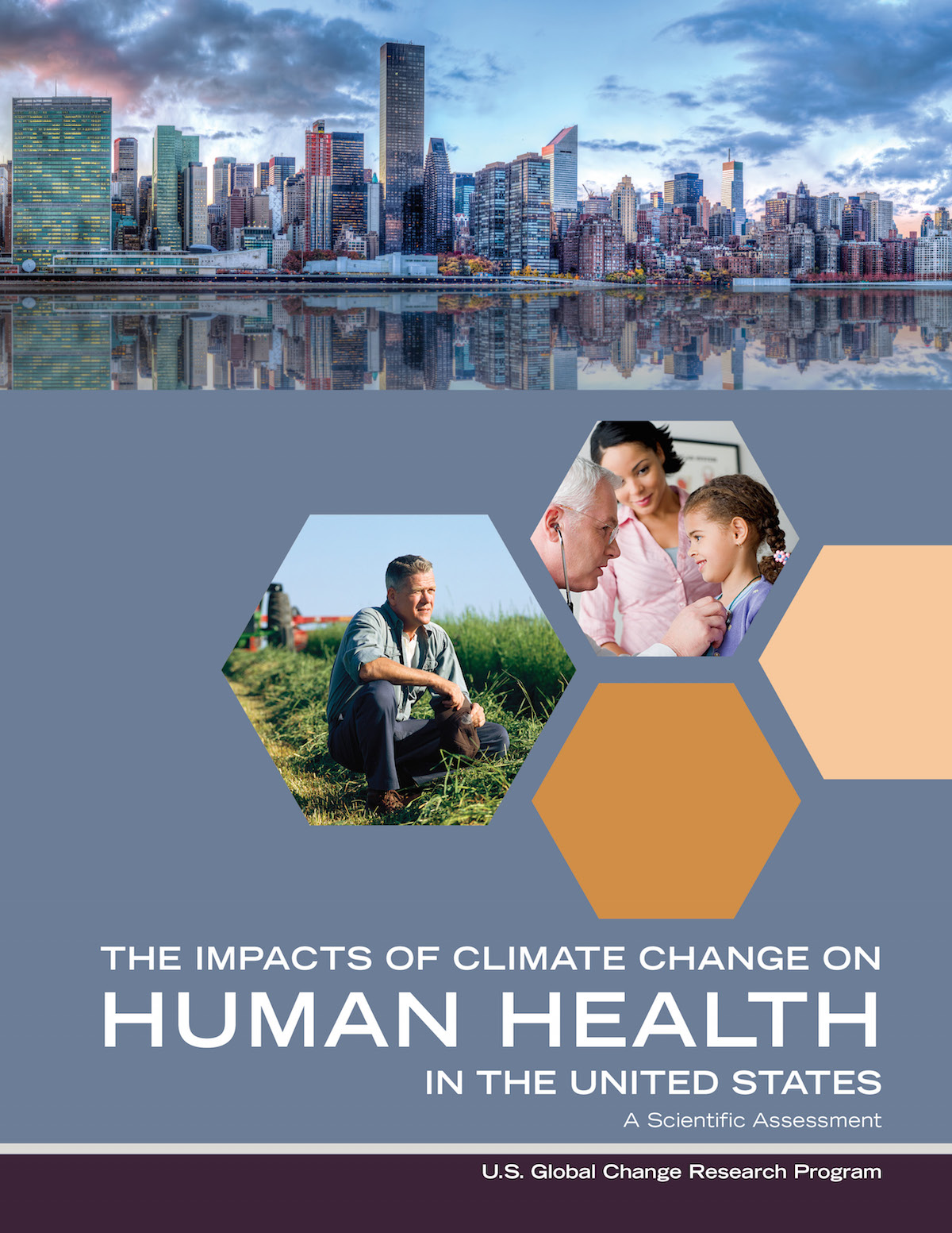 Flyer about the impacts of climate change on human health int he United States