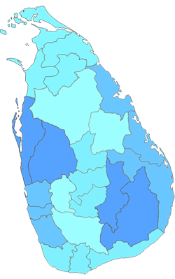 Provinces in Sri Lanka