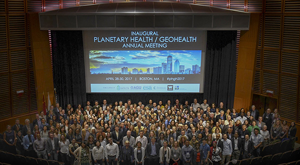 Planetary Health GeoHealth Conference attendees