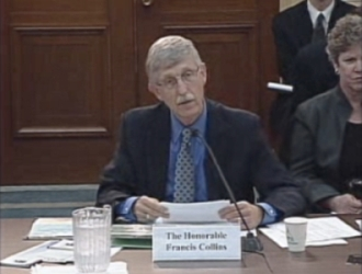 Dr. Francis Collins before Congress