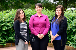 2015 Interns - Pictured (L-R): Jennifer Black, Farah Yaghi, Ana Tyler