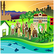 PEHP Collage of environment, communities and populations