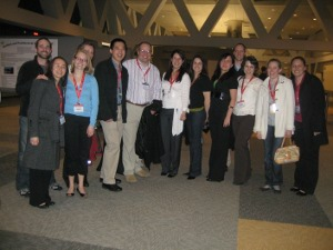 SPAN members gather for a night out at the 2009 Society of Toxicology Annual Meeting
