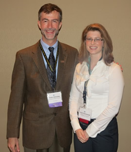 Hammond (right) with LSU SRP Training Core leader Robin McCarley