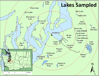 lakes sampled graphic