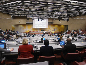 Plenary session of UNEP