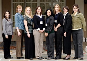 Group photo of Karen Wetterhahn Awardees at the 2007 SBRP Annual Meeting