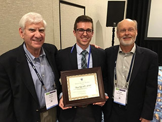 Daniel Croft, M.D. with ATS David Bates Award