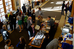 The meeting provided opportunities for networking and scientific discussion throughout each day.