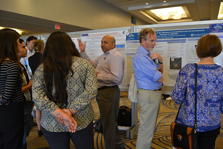 Two poster sessions were held after the scientific sessions. The posters exhibited work from grantees all over the country and highlighted collaboration.