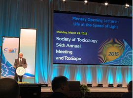 Dr. Kaminski opened the SOT Meeting 2015