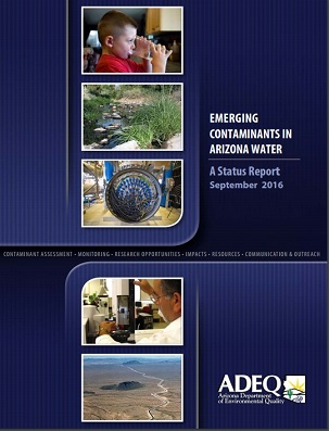 Emerging Contaminants in Arizona Water: A Status Report (September 2016)