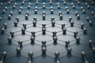 Artistic rendering of graphene