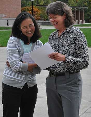 Celia Chen and Laurie Rardin