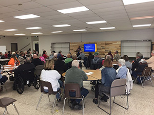community meeting in Fremont, MI