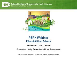 PEPH Webinar: Ethics & Citizen Science