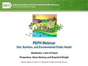 PEPH Webinar: Diet, Nutrition, and Environmental Public Health