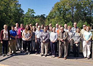 Group photo of the attendees to the strategic planning meeting