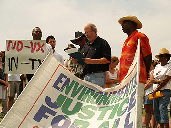 Environmental Justice rally