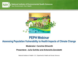 Assessing Population Vulnerability to Health Impacts of Climate Change